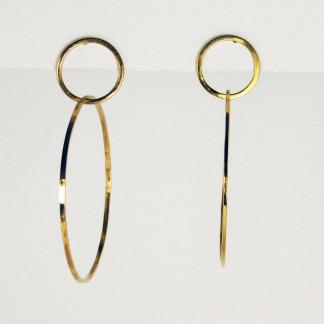 Ohrringe Ring im Ring Gold 1 324x324 - Ohrringe Ring im Ring Gold