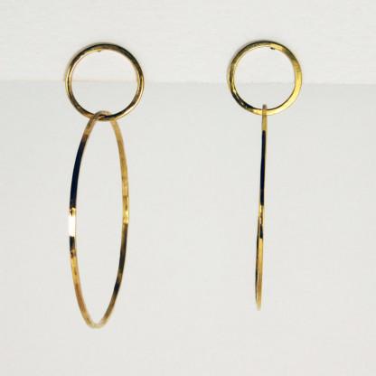 Ohrringe Ring im Ring Gold 1 416x416 - Ohrringe Ring im Ring Gold