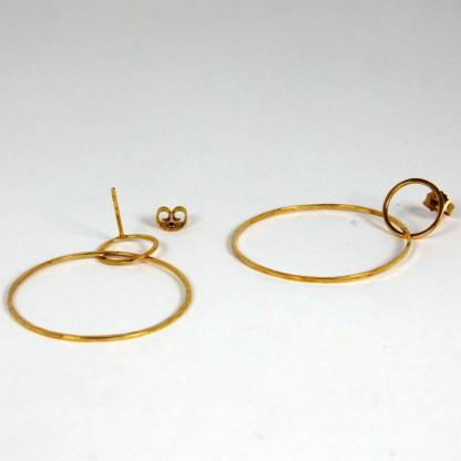 Ohrringe Ring im Ring Gold 2 416x416 - Ohrringe Ring im Ring Gold