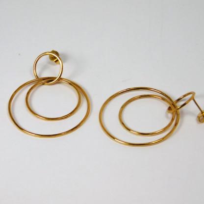 Ohrringe Ringe im Ring Gold 2 416x416 - Ohrringe Ringe im Ring Gold