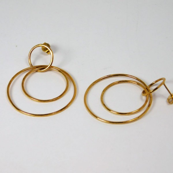 Ohrringe Ringe im Ring Gold 2 600x600 - Ohrringe Ringe im Ring Gold