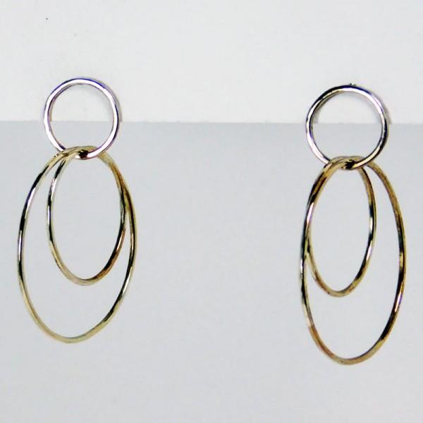 Ohrringe Ringe im Ring Silber 1 600x600 - Ohrringe Ringe im Ring Silber