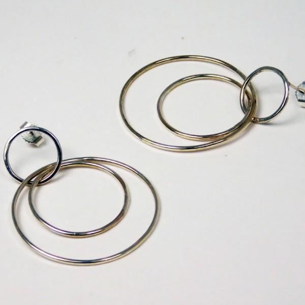 Ohrringe Ringe im Ring Silber 2 600x600 - Ohrringe Ringe im Ring Silber