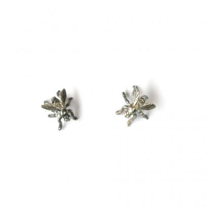 Ohrstecker Fliegen aus Silber vom Goldschmied kaufen 416x416 - Ohrstecker Fliegen aus Silber