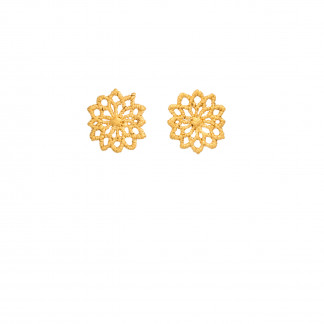 Ohrstecker Motiv Chrysanthemen aus 750er Gelbgold 040 scaled 324x324 - Ohrclips Flora starlight