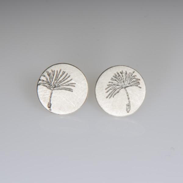 Ohrstecker Pusteblume Silber 600x600 - Ohrstecker Pusteblume Silber