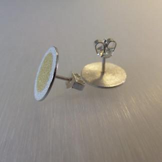 """Ohrstecker aus Silber mit Goldpunkt kaufen scaled 324x324 - Silberohrstecker """"Goldpunkt"""""""