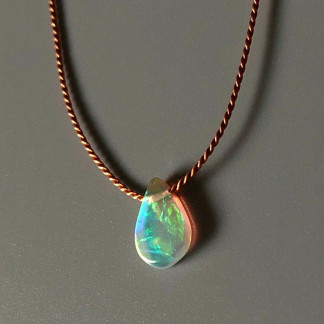 Opal Seidenkette kaufen