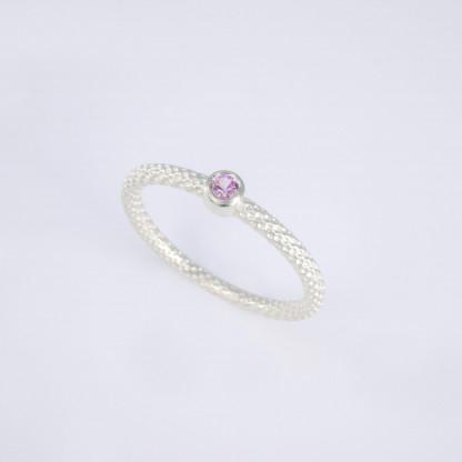 Pünktchenring 925er Silber mit rosa Saphir scaled 416x416 - Pünktchenring 925er Silber mit rosa Saphir
