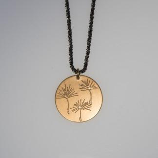 Pusteblume 3er vergoldet Silberkette scaled 324x324 - Halskette 3 Pusteblumen Gelbgold vergoldet