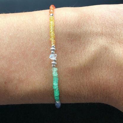 Regenbogen Chakra Design-Armband online kaufen