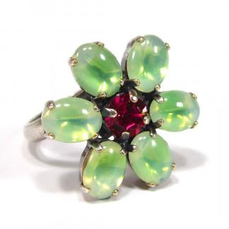 Ring Daisy sabrina grün Ringe 324x324 - Edelstahlring Fairy Hochglanz