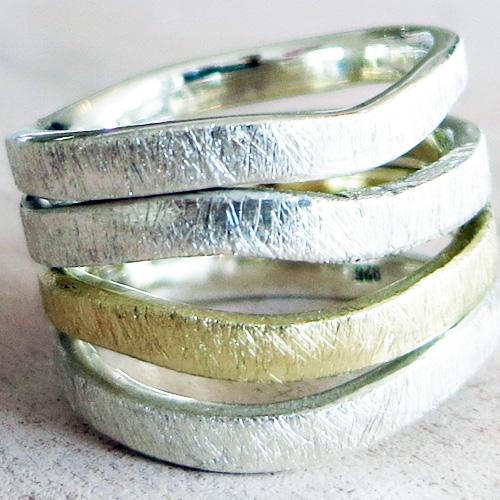 Ring Durchbruch 585 Gelbgold - Ring Durchbruch 585er Gelbgold
