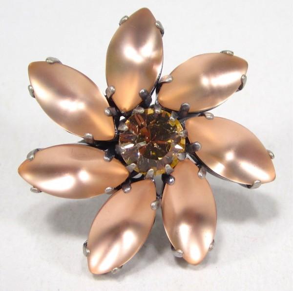 Ring Flora light peach Ringe 600x595 - Ring Flora light peach