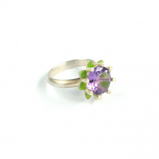 "Ring Jardin de Giverny 324x324 - Ring ""Utopia-Oval"" Gold"