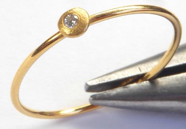 "Ring Pebbles 2 600x415 - Ring ""Pebbles"""