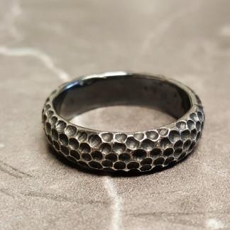 """Ring aus Silber Mond scaled 324x324 - Männerring """"Mond"""" aus geschwärztem Silber"""
