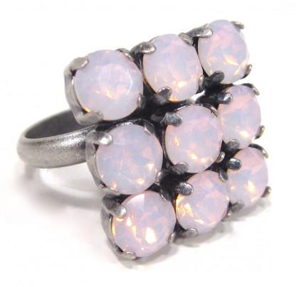 Ring quadrat rose water opal Ringe 416x404 - Ring quadrat rose water opal
