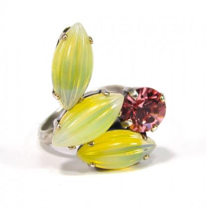 Ring sabrina gelb rose Ringe 416x420 - Ring sabrina gelb rose