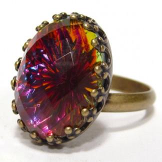 Ring vintage volcano Ringe 324x324 - Ring quadrat rose water opal