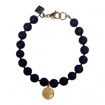 Schmuck kaufen Armband Leon Onyx von Annjoux Freigestellt
