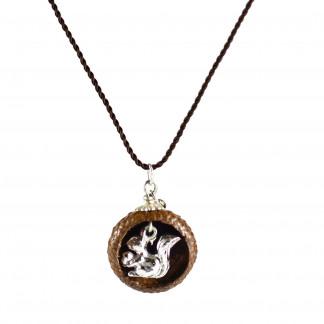 Schmuck kaufen Ebene Eichelhut Halskette – Eichhörnchen Silber Z224 5 von 5 324x324 - Eichelhut-Halskette mit Eichhörnchen