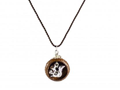 Schmuck kaufen Ebene Eichelhut Halskette – Eichhörnchen Silber Z224 5 von 5 416x312 - Eichelhut-Halskette mit Eichhörnchen