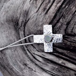 Schmuck kaufen Kreuzkette mit Turmalin Dinky Donkey