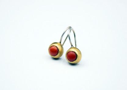 Schmuck kaufen Ohrringe E Mox Koralle