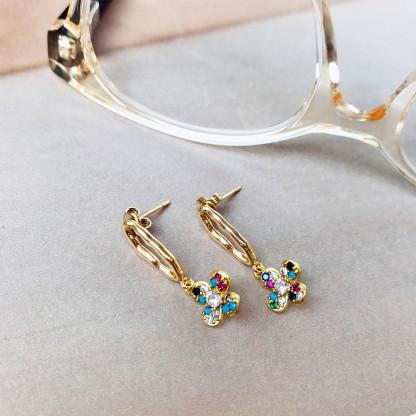 Schmuck kaufen Ohrringe Zahara 3 Schleer Everlove