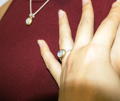Schmuck kaufen Ring Mox Mondstein