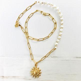 Schmuck kaufen Sunflower Design-Halskette Ana Schleer Everlove