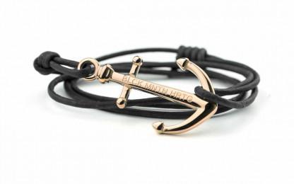 armband rose blk 416x260 - Anker Armband RALEIGH Leder vintage schwarz