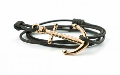 armband rose braun 1 416x260 - Anker Armband MAGELLAN Leder dunkelbraun