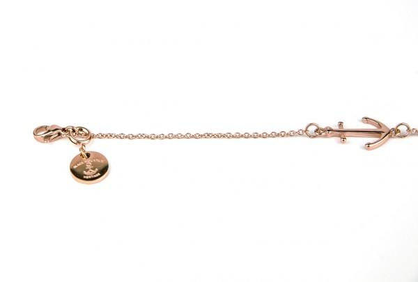 armband rose details 600x405 - Anker Armkette VALENA rosegold