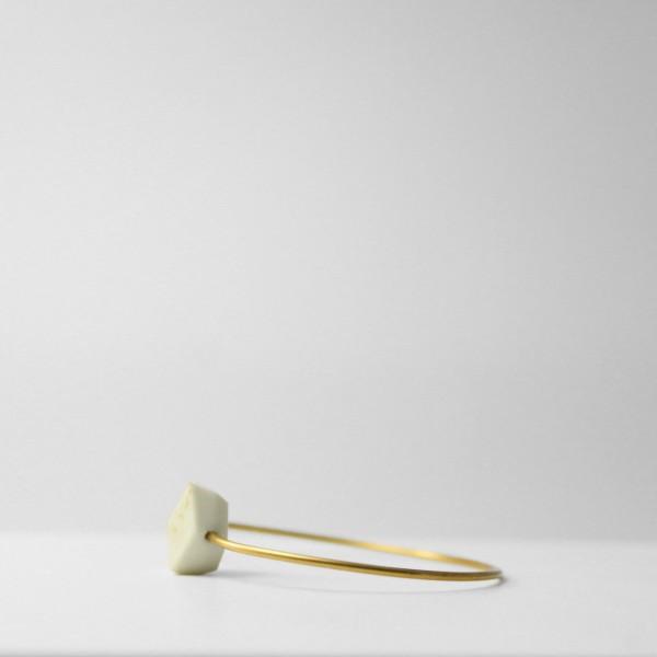 """armreifen unikum glow gold 36 600x600 - Armreifen """"Unikum"""" Glow-Gold"""
