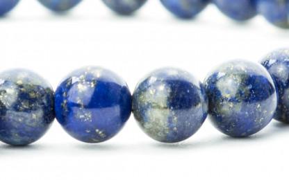 blaudetail 416x260 - Steinperlen Armband LAZU blau