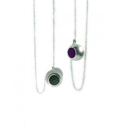 """dots halsschmuck silber halskette 416x478 - Silber-Halskette """"dots"""" (Farbauswahl)"""