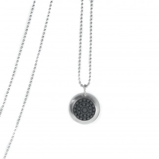 "dots silber design halskette mit farbe 324x324 - Silber-Halskette ""dots"" (Farbauswahl)"