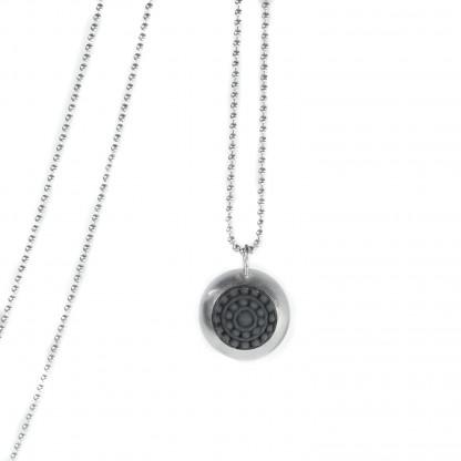 "dots silber design halskette mit farbe 416x416 - Silber-Halskette ""dots"" (Farbauswahl)"