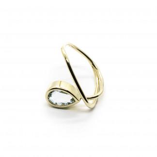 goldener ring mit aquamarin 324x324 - Courbe Goldring mit Aquamarin