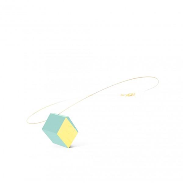 "halskette ambivalenz mint blattgold 187 600x600 - Kette ""Ambivalenz"" Mint-Gold"
