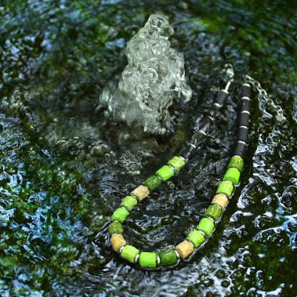 halskette collier tao soft moss 416x416 - Halskette Black Tao (Farbauswahl)