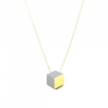 """kette lang ambivalenz grau gold 173 416x416 - Kette lang """"Ambivalenz"""" Grau-Gold"""