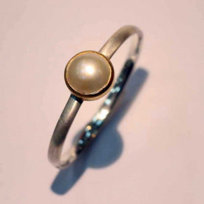 kreativer schmuck armspange mabee perle 2 416x415 - Armspange Mabee Perle