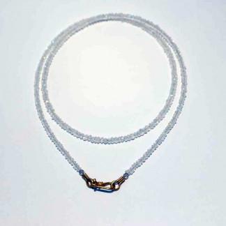 kreativer schmuck collier mondstein 324x324 - Collier Perle 42 oder 45cm