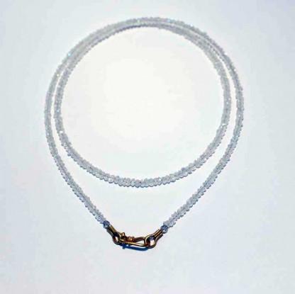 kreativer schmuck collier mondstein 416x415 - Collier Mondstein 42 oder 45cm