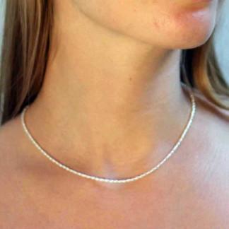 kreativer schmuck collier perle 1 324x324 - Collier Perle 42 oder 45cm