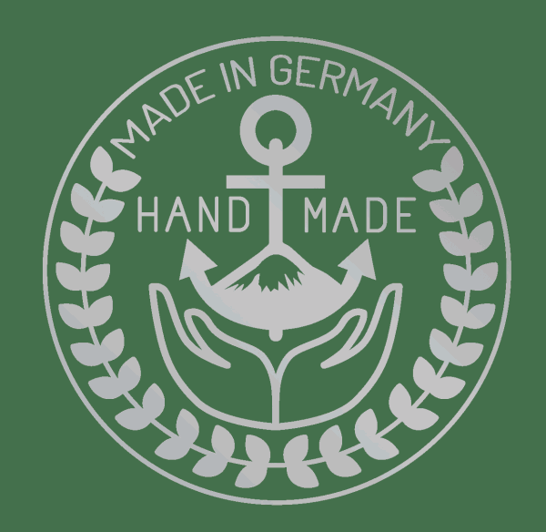 made silver 04 600x584 - Anker Armband BLACKBEARD schwarz