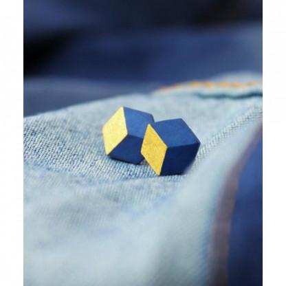 """ohrstecker ambivalenz jeans gold 89 416x416 - Ohrstecker """"Ambivalenz"""" Jeans-Gold"""